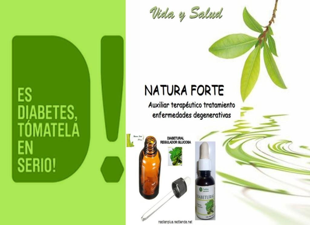 Diabetes toma Diabetural Natura Forte Plus